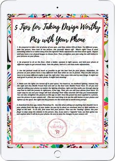 5 tips for taking design worthy pics with your phone Phone Photography, Photography Tips, Victorian Homes, Iphone, Chairs, Camper, Archive, House Ideas, Design