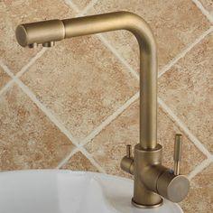 Hot U0026 Cold Water U0026 RO Filter Antique Water Purifier Kitchen Mixer Faucetu2026