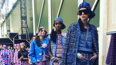 """Chanel Does Throwback '90s Beauty on the Runway for Spring. Think """"Fresh Prince"""" vibes, but with more tweed."""