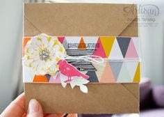 Choose Happiness Envelope Card ~ Susan Wong