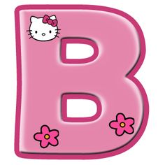 Oh my Alfabetos!: Alfabeto de Hello Kitty con letras grandes. Alphabet Letters Design, Alphabet And Numbers, Monogram Letters, Hello Kitty Pictures, Kitty Images, Hello Kitty Invitation Card, Hello Kitty Imagenes, Hello Kitty Items, Ideas Party