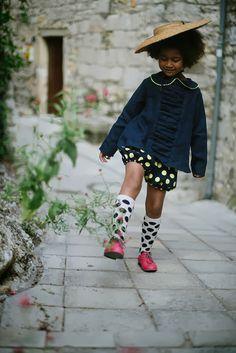 La Princesse au petit pois. Be spotted. Dotted Fashion. Dots. Kid's fashion