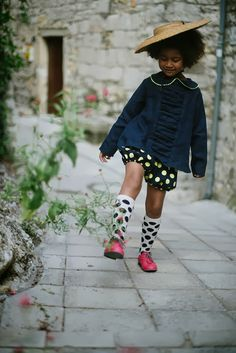 La Princesse au petit pois. Be spotted. Dotted Fashion. Dots. Kid's fashion