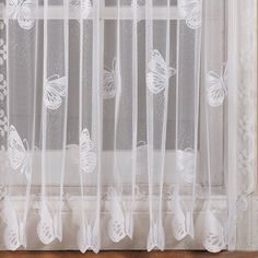 Althea Butterfly Dragonfly Window Treatment