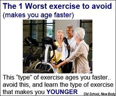 Exercises that make you feel younger!