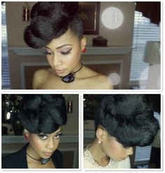 Gorgeous and Easy 2-Minute Updo Using Kanekalon Hair