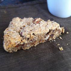 Buttery Coconut Flour Cinnamon Date Nut Scones | EatNourishing.com I am always…