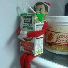 30 easy Elf On The Shelf ideas