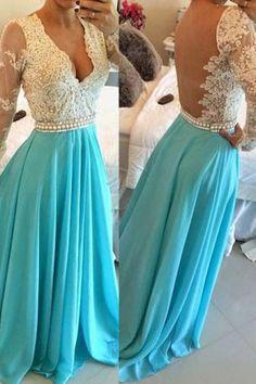 68c1e049ef7 7 Best 2017 Long prom dress images