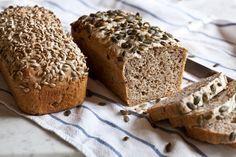 Celozrnný chléb bez hnětení - Kitchenette