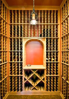 Lorraine Vale traditional wine cellar