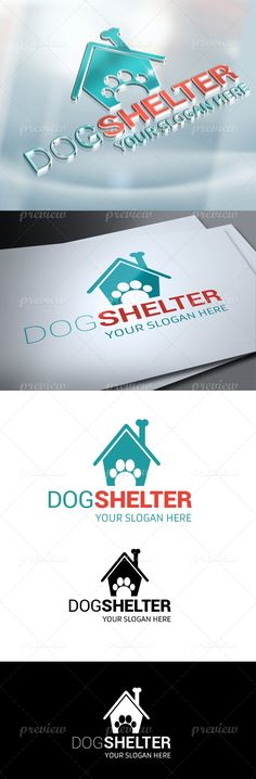 Dog Shelter Logo - http://www.codegrape.com/item/dog-shelter-logo/3878