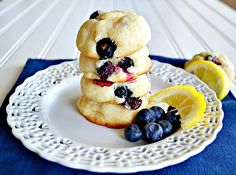 Blueberry Lemon Cheesecake Cookies