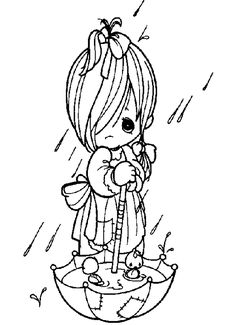 Precious Moments Angels Coloring Pages - Bing Images Angel Coloring Pages, Coloring Pages To Print, Printable Coloring Pages, Coloring For Kids, Colouring Pages, Adult Coloring Pages, Coloring Books, Free Coloring, Precious Moments Coloring Pages