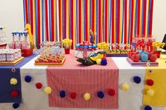 "Photo 1 of 14: Vintage Circus / Birthday ""Sabrina's 8th Birthday's party"" 