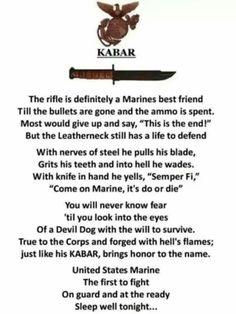 The Marine KA-BAR