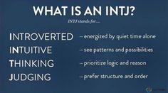 What is an INTJ?   #INTJ