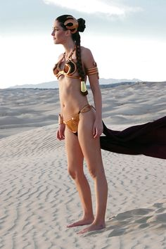 Slave Leia, Star Wars.