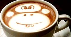 Monkey: 3D Panda and Other Latte Art
