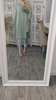 Modest Fashion Hijab, Modern Hijab Fashion, Indian Fashion Dresses, Islamic Fashion, Hijab Chic, Muslim Fashion, Frock Fashion, Mode Abaya, Mode Hijab