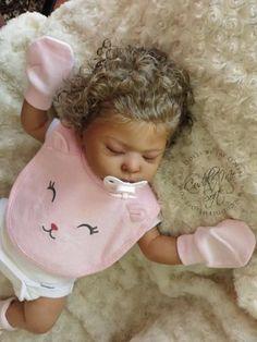 Biracial Reborn Baby Girl for sale - Lee Lee by Laura Tuzio Ross