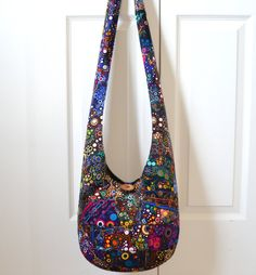 Winddancer Tie Dye Bag Hippie Bag Hobo Bag Sling Bag Cotton ...