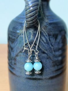 Pearl Earrings, Drop Earrings, Silver Plate, Turquoise Necklace, Lanterns, Trending Outfits, Unique Jewelry, Handmade Gifts, Crystals