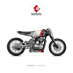 "66 Likes, 1 Comments - Barbara Custom Motorcycles (@barbara.motorcycles) on Instagram: ""Barbara Custom Motorcycles - Photoshop Preparations  #Kawasaki #kawasakiW800 #Kawa #W800 #Redline…"""