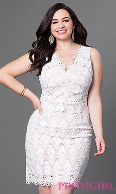 Shop Simply Dresses for plus size formal dresses for prom. Plus size cocktail dresses, evening gowns in plus sizes, and plus size dresses. White Plus Size Dresses, Plus Size Cocktail Dresses, Plus Size Gowns, Plus Dresses, Curvy Outfits, Simple Outfits, Dresses For Apple Shape, Special Dresses, Curvy Women Fashion