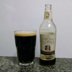 Strong Suffolk Vintage Ale by Greene King - Ago/2014