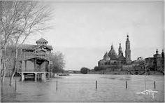 Resultado de imagen de baños en el rio ebro zaragoza