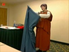 Fundamentals of Roman Dress. Here is a filmed version of my seminar on the basics of Roman dress. I know I talk fast, and not toward the cam...