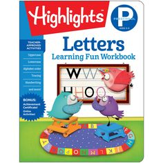 Learning Fun Workbooks Letters Highlights