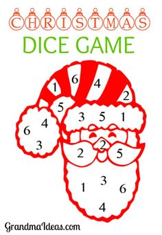 Christmas Dice Game - Grandma Ideas This Christmas dice game is fun to play at family holiday get togethers. Christmas Dice Game - Grandma Ideas This Christmas dice game is fun to play at family holiday get togethers. Fun Family Christmas Games, Christmas Gift Exchange Games, Xmas Games, Holiday Party Games, Christmas Activities, Kids Christmas, Holiday Fun, Family Holiday, Christmas Crafts
