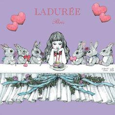Laduree Yuko Higuchi #laduree #laduree_japon #macarons