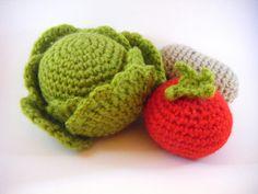 Kit de Légumes au crochet par MamieMerci sur Etsy