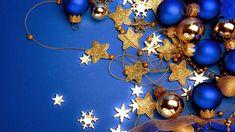 Blue Christmas Wallpaper for Desktop. Tropical Christmas Ornaments, Merry Christmas, Hallmark Christmas Ornaments, Christmas Hacks, Elegant Christmas, Blue Christmas, Christmas Images, Christmas Colors, All Things Christmas
