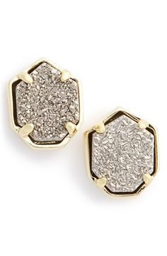 Kendra Scott 'Logan' Stud Earrings available at #Nordstrom