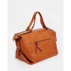 Fiorelli | Fiorelli Heston Slouchy Bowler with Zip Top and Belt Detail... via Polyvore