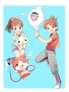 Risultati immagini per youkai watch fanart