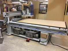 Used Weeke CNC Router - Model 007/408  For more information...  Phone 678.642.9722             Email sales@firstchoiceind.net Used Woodworking Machinery, Lean Manufacturing, Cnc Router, Phone, Model, Cnc Milling Machine, Telephone, Scale Model