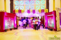 Sangamithra Convention Center V Decors Event .Contact us: No.26, 3rd cross East Brindavan, Pondicherry_605013 Email : veventss@gmail.com Mobile : +91 94880 85050 Office : +91 97906 75494 #AccordHotel#weddingdecor #receptiondecor #Engagementdecor #birthday#babyshower #pubertyceremony #namingceremony #gradal function#corporate #entertainmentevent #pondicherry #cuddalore #villupuram #mayiladuthurai #chengalpattu #viruthachallam #panrutti #tirukovilur #chenji#sirkazhi #thiruvanamalai#tindivanam Marriage Decoration, Wedding Stage Decorations, Engagement Decorations, Wedding Design Inspiration, Wedding Reception Photography, Entrance Decor, Branding, Corporate, Indoor Wedding