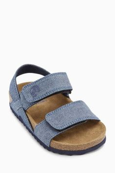 Blue Corkbed Sandals (Younger Boys)