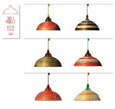 PET Lamps from Alvaro Catalan de Ocon. Plastic Waste in Columbian Amazon meets a problem solving designer.