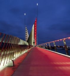 twin sails bridge. speirs + major and wilkinson eyre.