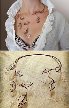 Hey, diesen tollen Etsy-Artikel fand ich bei https://www.etsy.com/de/listing/220814954/necklace-foliage-jewelry-jewelry-made-of