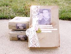 Will You be My Bridesmaid invitations by Stephanie.    So blessed to recieve one of these pretty boxes :)