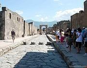 Progetto Pompei, Cgil all'attacco   «Vigili la Corte dei Conti» Foto Slide, Street View