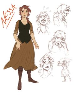 Character designs for my webcomic that I shall soon be starting up again. :) This is an old character, redesigned and renamed. I don't know if there is anyone out there who remembers my old comic, but this girl used to be called Ivy. She's no longer...