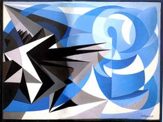 Pessimism and Optimism : Giacomo Balla : Futurism : abstract painting - Oil Painting Reproductions Italian Painters, Italian Artist, Giacomo Balla, Italian Futurism, Futurism Art, Modernisme, Cool Posters, Les Oeuvres, Art Boards